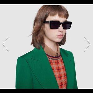 New Gucci rectangle sunglasses